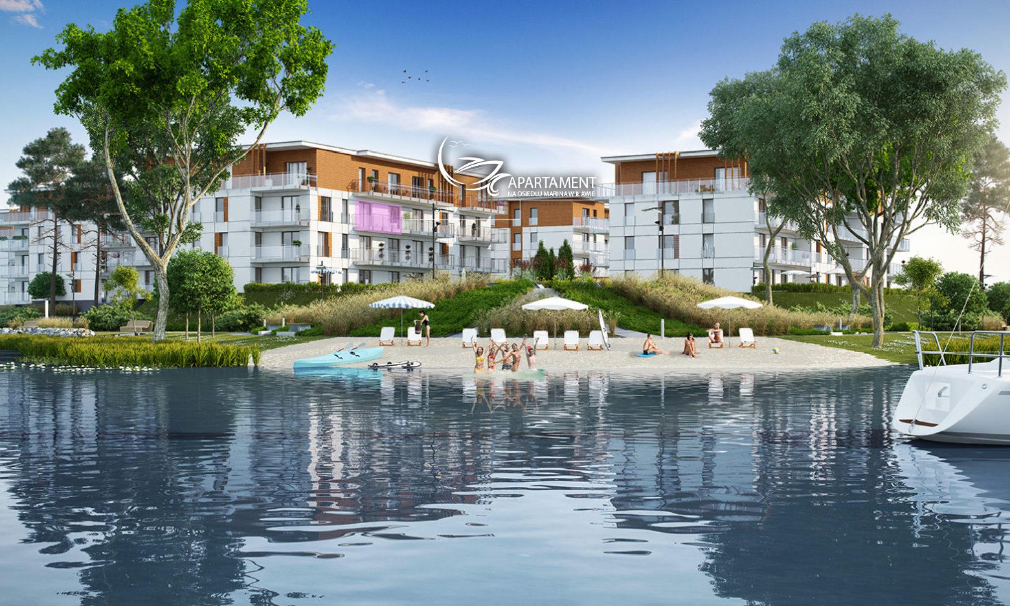 Wynajmij mieszkanie z widokiem na Port Iława i Jezioro Jeziorak